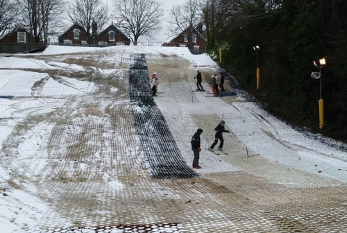 Exeter ski slope
