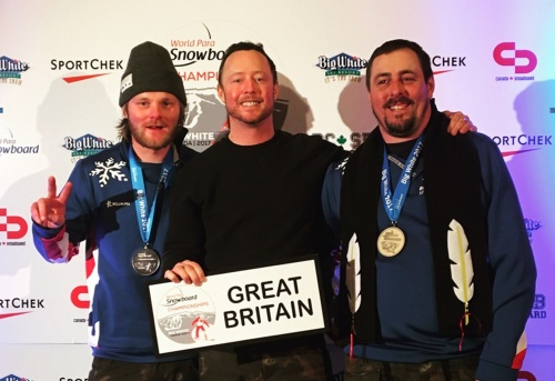 Medals for GB para snowboarders