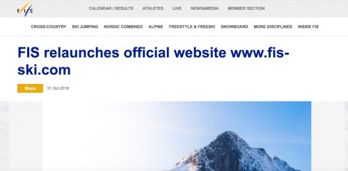 New-look FIS website