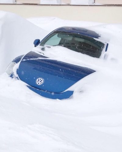 Cars adrift on Sunday in Obergurgl