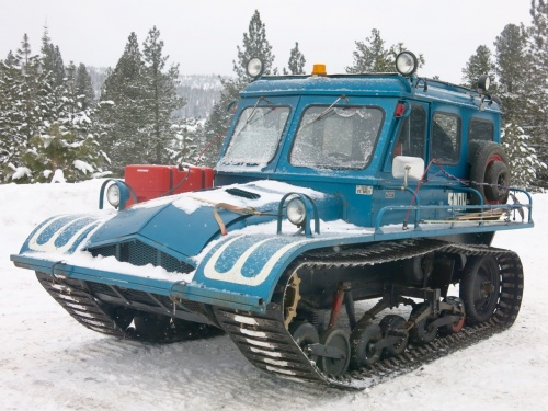 Snowcats at McCall, Idaho